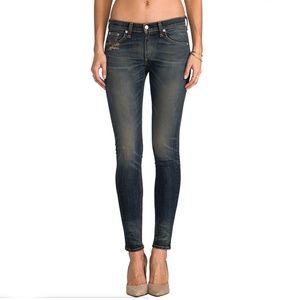 Rag & Bone The Skinny Jean in Arsenal Size 25